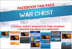 Facebook Fanpage Warchest Templates With PLR