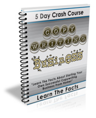 Product picture 5 Day Crash Course Copywriting Business with PLR!