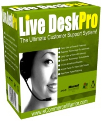 Product picture Live Desk Pro Script With MRR
