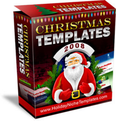 Product picture Christmas Templates With MRR + Bonus !
