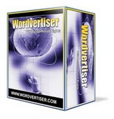 Product picture WordVertiser Software With MRR