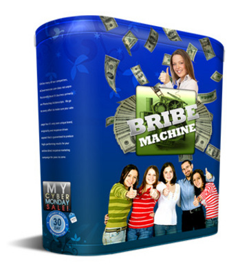Product picture Digg Bribe Machine Software with PLR