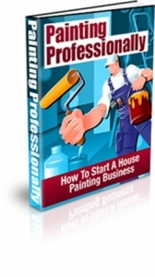 Product picture Painting Professionally With Plr