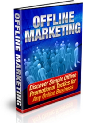 Product picture Offline Marketing With PLR
