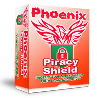 Product picture Phoenix Piracy Shield With PLR