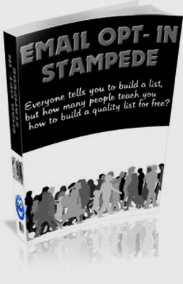 Product picture Email Opt In Stampede With PLR